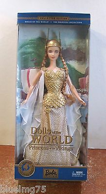 Z133 2003 Princess of the Vikings Barbie Dolls of the World NRFB