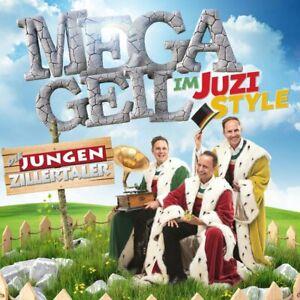 Die-Jungen-Zillertaler-Megageil-im-Juzi-Style-CD-NEU-OVP