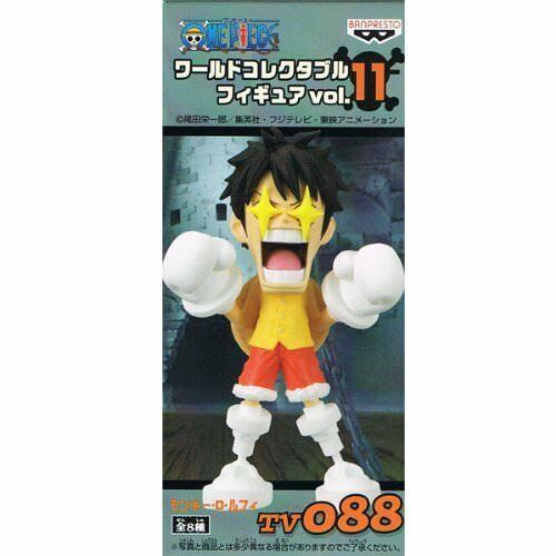 Vol.11 Monkey D Luffy ONE PIECE one piece single item World Collectable Figure