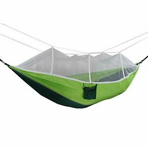 Camping Hammock with Mosquito Net,Portable Double and Single Hammock,Silenc