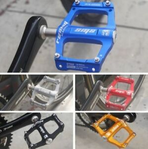 SMS 013M Aluminum Mountain Bike Pedals 3 Sealed Bearing Bicycle Pedals 9//16in