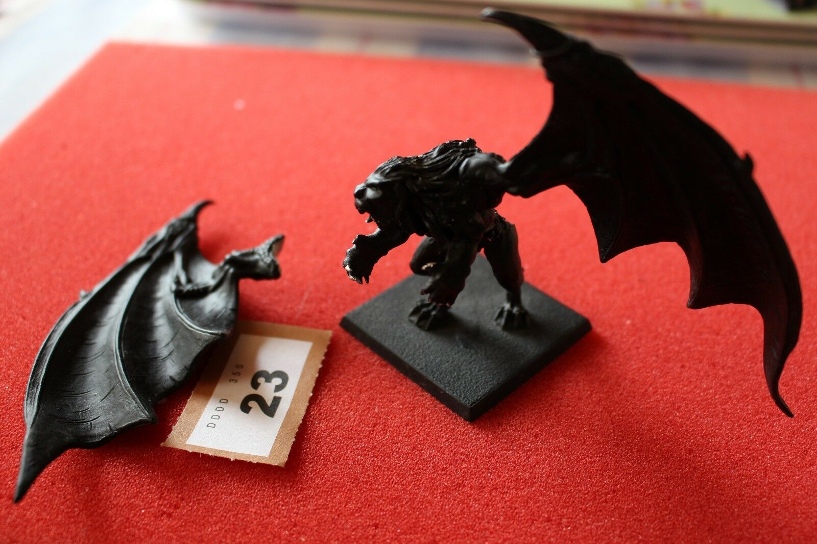 Games Workshop Warhammer Manticore Mounted Metal Figure Incomplete Chaos Magic