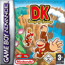 Nintendo Gameboy Advance DONKEY KONG KING OF SWING sealed game RARE gba