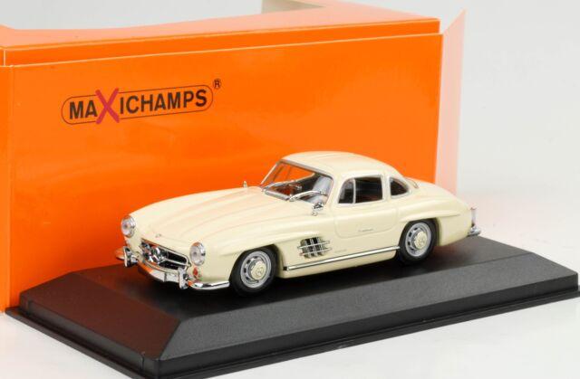Mercedes-Benz 300 Sl Coupe W198 White 1955 1:43 Maxichamps