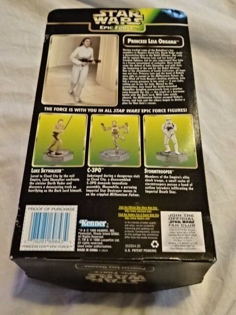 RARE NEW IN BOX STAR WARS PRINCESS LEIA 5