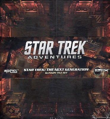 Star Trek Adventures  The Next Generation Klingon Tile Set Modiphius
