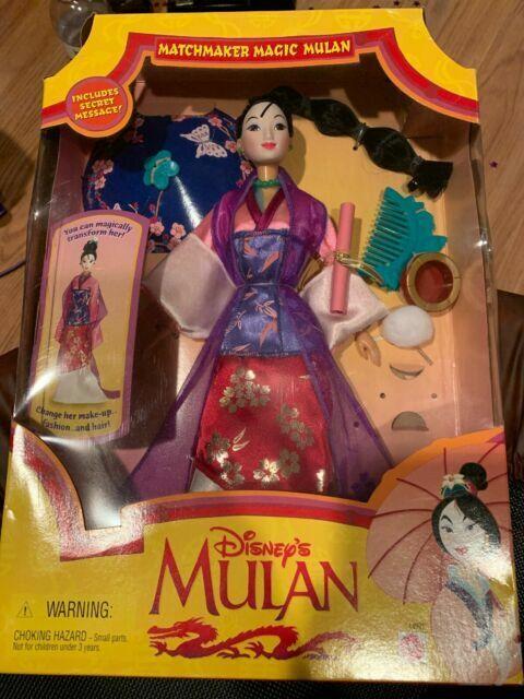 Matchmaker Magic Mulan Doll Disney Mattel 18991 116c For Sale Online Ebay