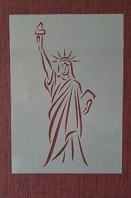 Schablone Freiheitsstatue A4