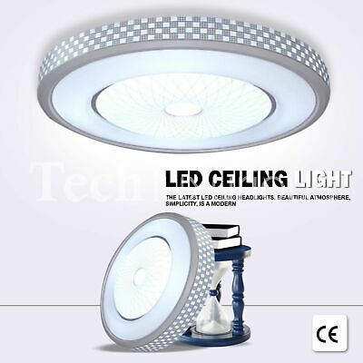 Led Ceiling Lights Round Panel Down Light Living Room Bedroom Kitchen Wall Lamp