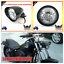 5-3-4-034-gloss-black-billet-alloy-bullet-headlight-Harley-Sportster-Chopper-Bobber thumbnail 4