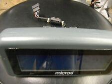 New Listingmicros Pos Rear Facing Customer Display For Ws5 Ws5a 400801 001