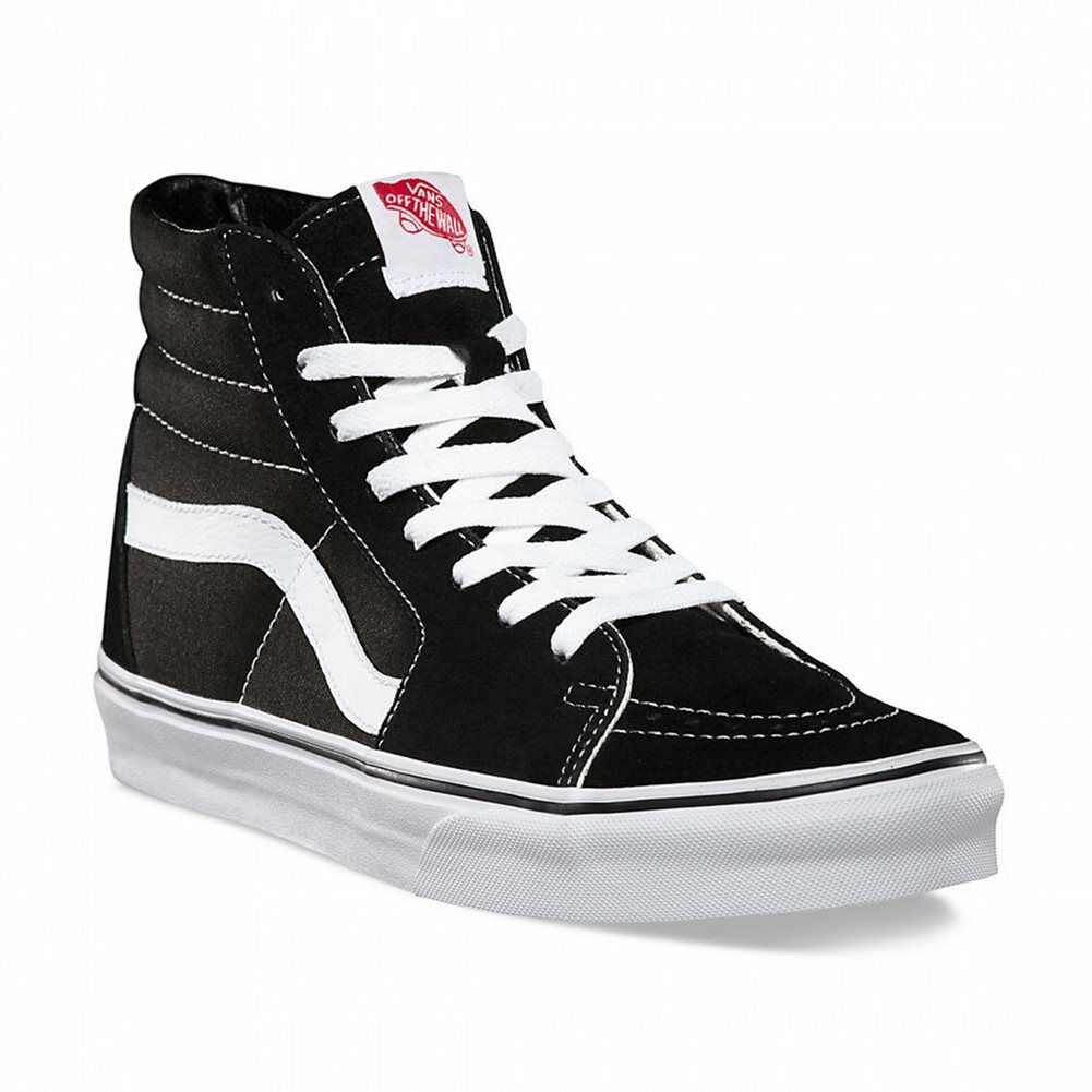 Vans SK8 Hi Shoes Black Men VD5IB8C