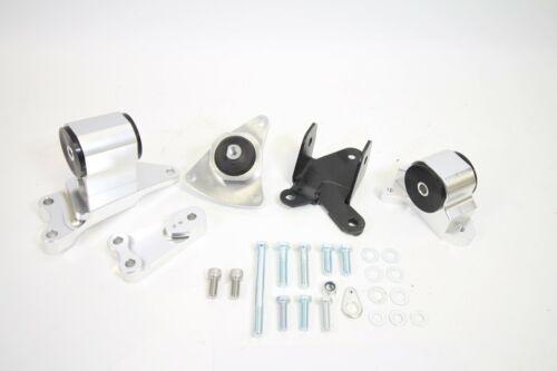 Billet Aluminum Engine Mount Kit For RSX DC5 EP3 K20 K24 K-Series
