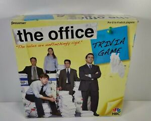 The Office Trivia Game Pressman 2008 Nearly Complete