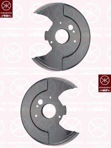 Spritzblech-Bremsstaubblech-Ankerblech-Satz-hinten-Nissan-Almera-Bj-2002