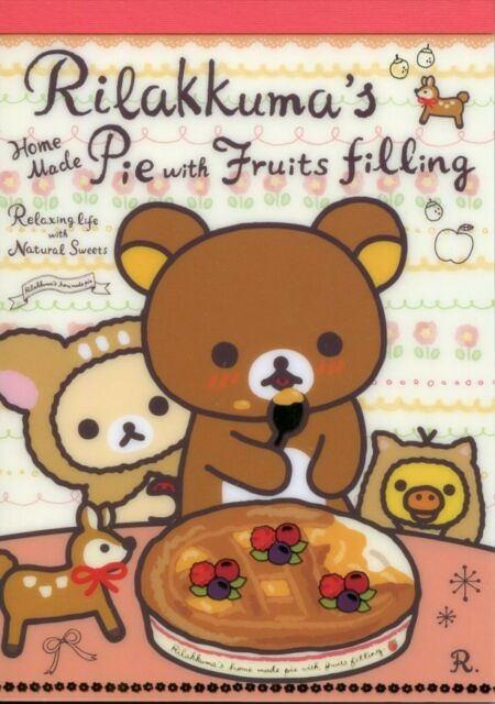 San-X Rilakkuma Relax Bear 5 Design Memo Pad #21 (Happy Natural Time)