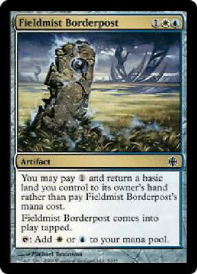 English Alara Reborn MTG Magic 4x Fieldmist Borderpost NM-Mint