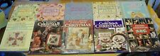 Lot of 10 Holidays & Christmas Cross-Stitch Books ~ Vanessa-Ann & Better Homes