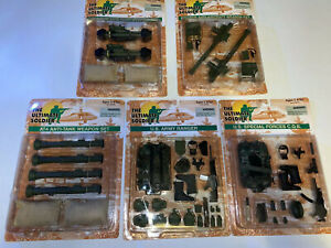 Ultimate-Soldier-21st-Century-Toys-Weapons-Accessories-Set-Lot-of-5