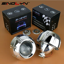 3.0'' HID Bi-xenon Lens Projector Headlight Retrofit For Peugeot 308 408