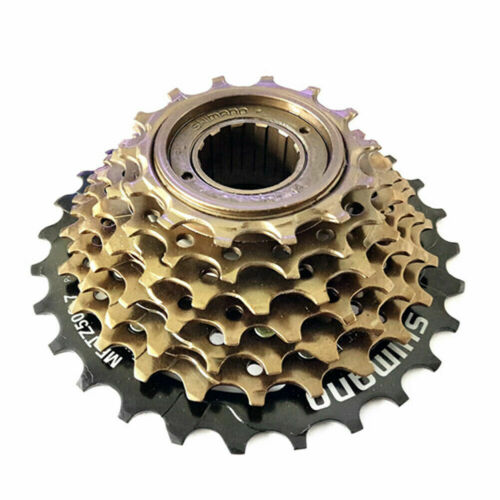 Shimano MF-TZ500 7 Speed MTB Bike Screw-On Freewheel Cassette 14-28T MF-TZ21