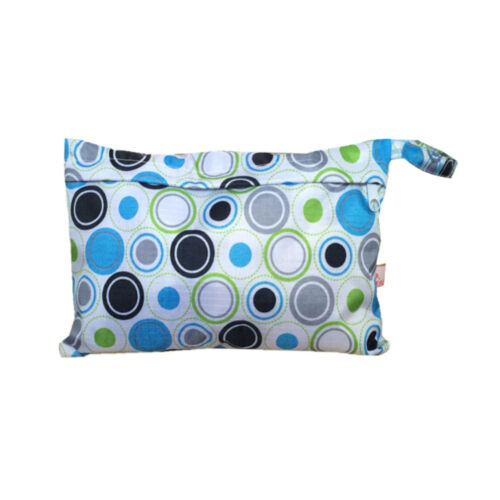 Baby Waterproof Travel Wet Dry Storage Bag Portable Cloth Zipper Diaper Pouch rs