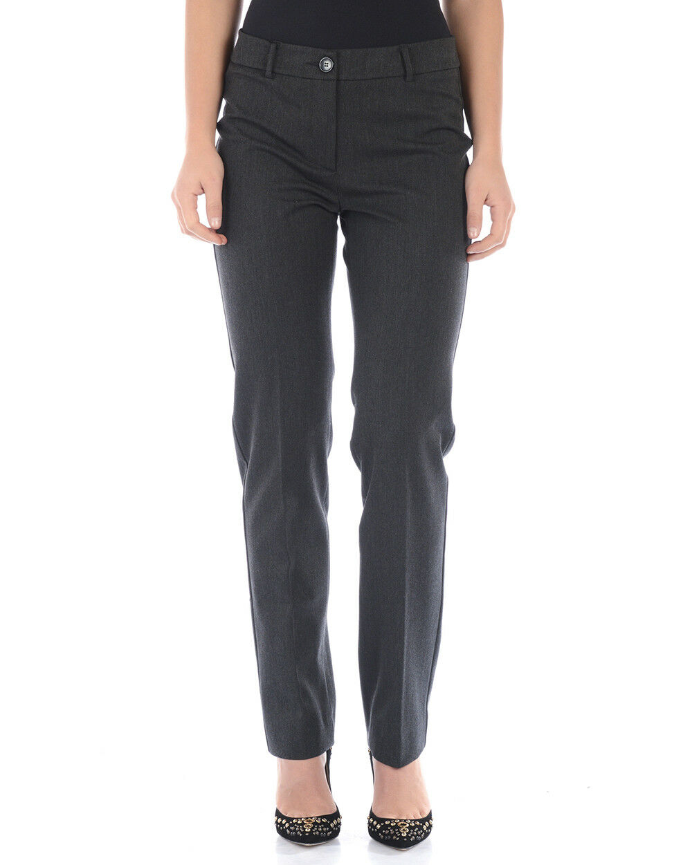 Max Mara Jeans Trouser SLIM FIT Woman Grey 51360263 1