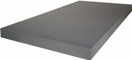 Schaumstoff schwarz 100x200 Schaumgummi Schaumstoffplatte