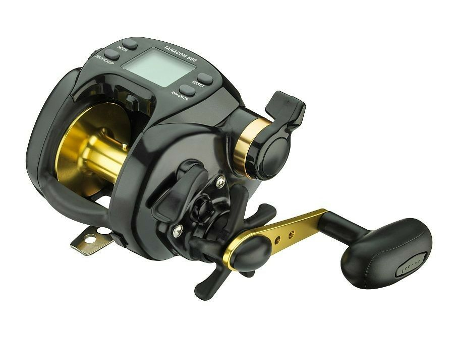 Daiwa Tanacom 500   Waterproof UTD drag system   made in Japan   with cable