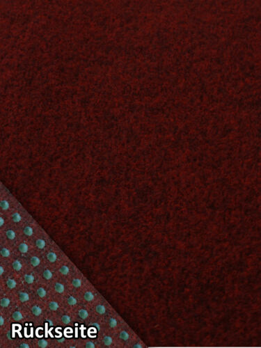 rot 200x700 cm dunkel Rasenteppich Kunstrasen Comfort