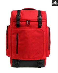 04f26f5886 Adidas TND Square Backpack Bags Sports Red School Casual Unisex GYM ...
