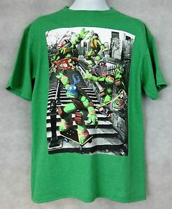 Teenage-Mutant-Ninja-Turtles-Officially-Licensed-Boys-T-Shirt-Skate-Board-TMNT