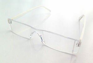 Glasses Invisible Frames : NEW RIMLESS READING GLASSES CLEAR FRAME-LESS LIGHTWEIGHT ...