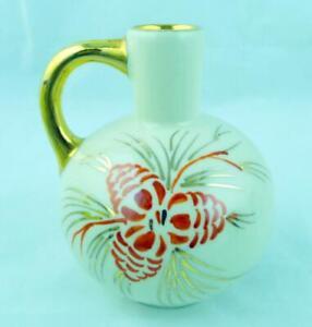 Miniature-Art-Pottery-Pitcher-Viintage