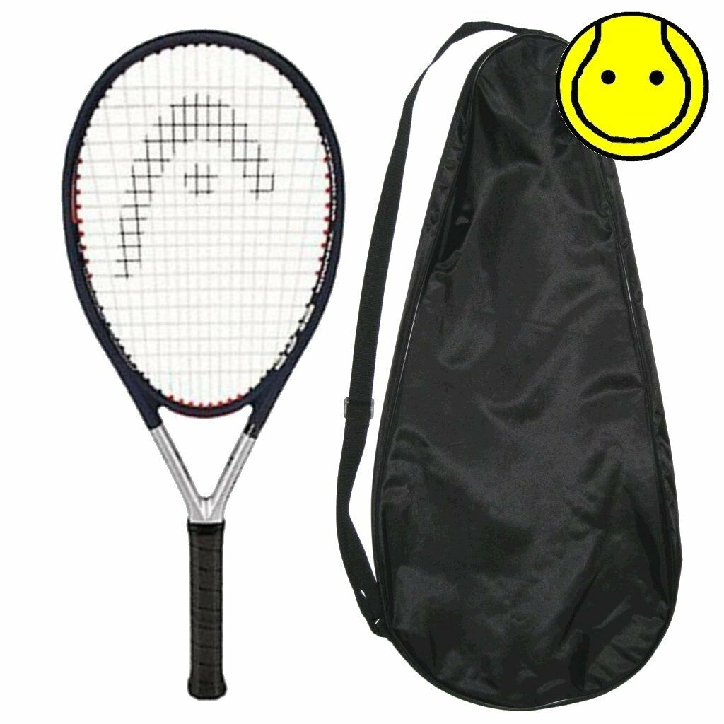 Nuovo Head COVER Ti.S5 Comfort Zone 4-3/8 Grip STRUNG with COVER Head Tennis Racquet CZ 5bf95a