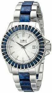 Invicta-18876-Angel-Women-039-s-38mm-Stainless-Steel-Silver-Dial-Blue-Crystal-Watch