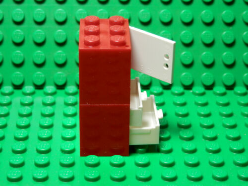 Cupboard WHITE Door 2 Drawers  Harry Potter LEGOS  2 NEW RED 2X3X2 Container