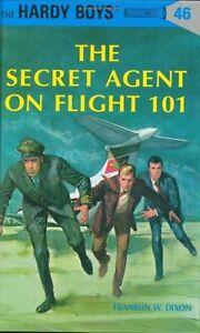 The-Secret-Agent-on-Flight-101-The-Hardy-Boys-No-46-by-Franklin-W-Dixon