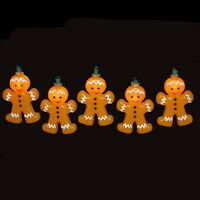 Kurt Adler 10-light Gingerbread Light Set , New, Free Shipping on sale