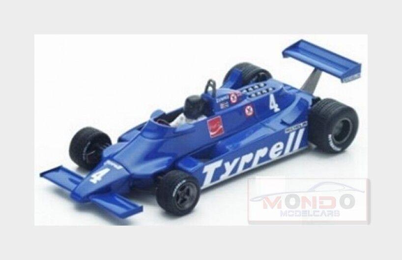 Tyrrell F1  010  4 Argentinian Gp 1981 Ricardo Zunino bleu SPARK 1 43 S4318