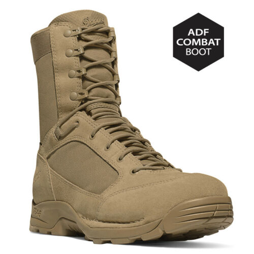 """DANNER TFX G3 8/"""" Official ADF Issue Combat Boots NSN/'D Tan Mens D Sizes NEW"""