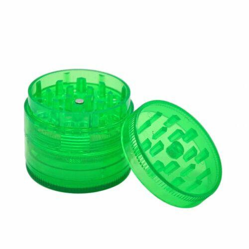 Plastic 4 Layers Hand Muller Herb Smoke Tobacco Smoke Grinder Crusher Grinding I
