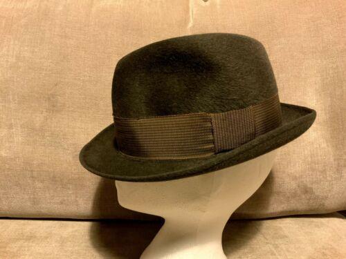 MORRETON Heather Fedora 1930s Hat Size 7 1/8 US Gr