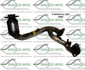 Catalytic Converter-Exact-Fit Front Left Davico Exc CA 19238