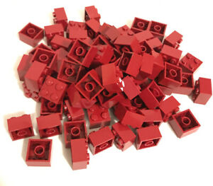 - 300321 size 2x2 5 x Lego Red Brick Parts /& Pieces