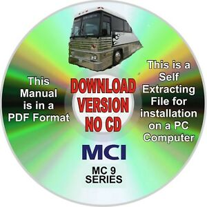 image is loading mci-bus-mc-9-service-amp-parts-manual