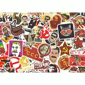 """Sowjetunion • UDSSR/"""" Stickerbomb Scrapbooking-Sticker Deko-Aufkleber /""""Nostalgie"""