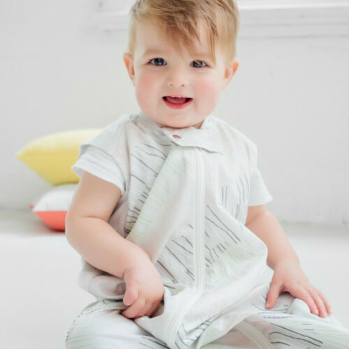 Ergopouch Natural Sticks Cotton Sleeping Bag 0.3TOG size 2-12 months Clearance