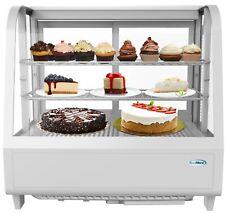 Countertop Refrigerator Merchandiser Display Case With Led Lighting 36 Cu Ft