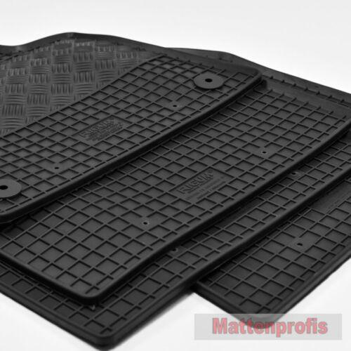 Gummimatten Gummifußmatten passend für Citroen C5 Aircross ab Bj 05//2018 Ri